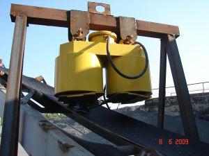 железоотделитель подвесной электромагнитный