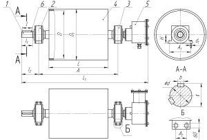 схема шкивного железоотделителя