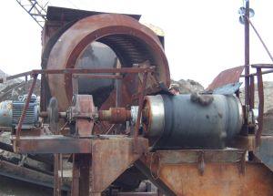смонтированный железоотделитель