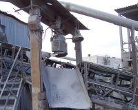 железоотделитель над конвейером